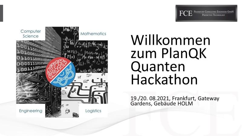Bild: PlanQK Quanten Hackathon